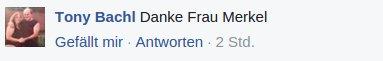 Kommentar Merkel
